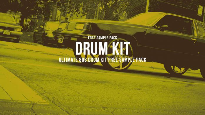 Ultimate 808 Drumkit Free Sample Pack