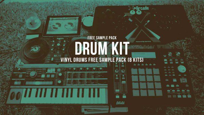 Vinyl Drums Free Sample Pack (8 Kits)