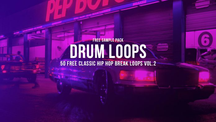 50 Free Classic Hip Hop Break Loops Vol.2