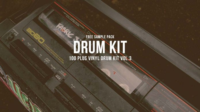 100+ Vinyl Drum Kit – Free Sample Pack Vol.3