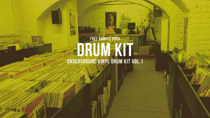 Underground Vinyl Drum Kit Vol.1