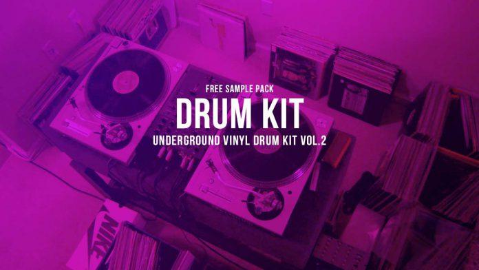 Underground Vinyl Drum Kit Vol.2